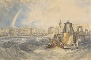 Brighthelmston. Watercolour by JMW Turner, c1824